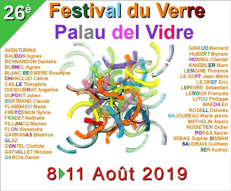 Venez à ma rencontre au festival de Palau Del Vidre